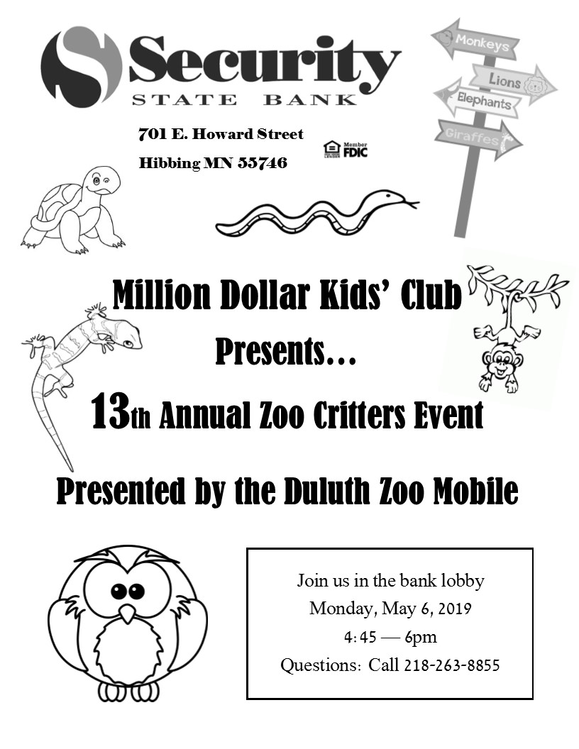 Image of flyer for 13th Annual Zoo Mobile.